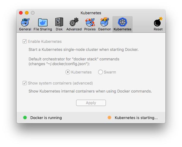 docker-preferences-kubernetes-starting